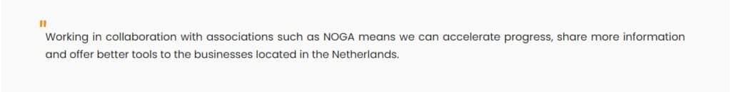 NOGA means